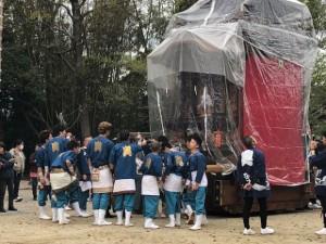 半田の岩滑新田のお祭り