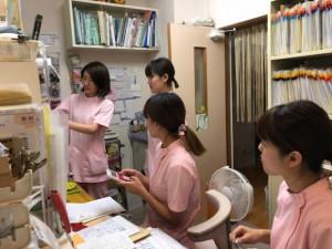 阿久比のリリー動物病院の看護師さんたち